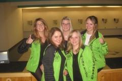 (von links) Stefanie Baur, Julia Reissner, Christina Baur, Christina Bachmeir und Nicole Reissner