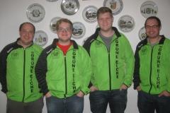 Bild zeigt: Die neuen Rekordhalter (von links) Victor Baumbach, Andreas Stadlmayr, Sebastian Hammer und Daniel Baumbach